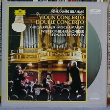 BRAHMS - VIOLIN CONCERTO, DOUBLE CONCERTO / KREMER, MAISKY (Laser Disc)