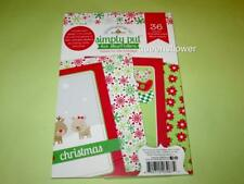 DOODLEBUG DESIGN SIMPLY PUT 4X6 ALBUM INSERTS HOME FOR THE HOLIDAYS