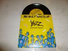 """YAZZ - The Only Way Is Up - 1988 UK 7"""" vinyl single (with sleeve)"""