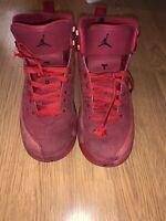 Nike Air Jordan 12 Retro Gym Red GS Toro 153265-601 Youth Boys Size 7Y GUC