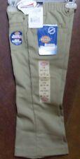 NWT Girl's KP311 Style Welt Pocket Flare Bottom Khaki Pants Size 4