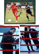 """DWAYNE DE ROSARIO signed """"TORONTO FC"""" 8X10 Photo (A) - PROOF - TFC COA"""