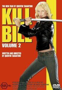 KILL BILL VOL 2 DVD UMA THURMAN REGION 4 NEW AND SEALED