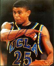 EARL WATSON SIGNED 8X10 UCLA BRUINS PHOTO COA MEMPHIS