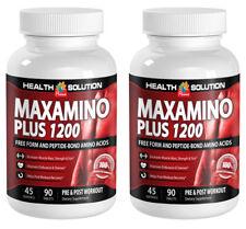 Testosterone capsules - MAXAMINO PLUS 1200 2B - l-arginine and l-ornithine