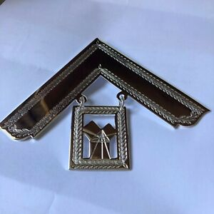 Masonic Craft Past Master Collar Jewel Made in the UK. £25