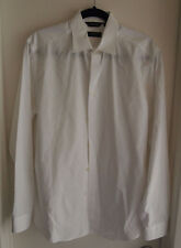 Paul Smith Men's Size 15 1/2 / 39 The Byard White LS Dress Shirt 100% Cotton
