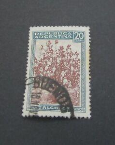 Argentina 20 Pesos Stamp  Used LH