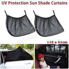AUS 2Pcs Car UV Protection Shade Curtains Side Window Visor Mesh Shield Camping
