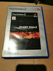 Silent Hill 2 Directors Cut (PS2) case and manual only no disc