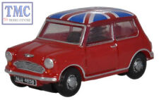 NMN001 Oxford Diecast Tartan Red/Union Jack Austin Mini 1/148 Scale N Gauge