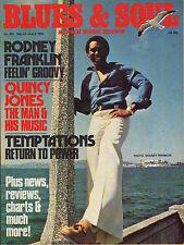 Rodney Franklin Blues & Soul Issue 304 1980    The Temptations   Quincy Jones