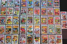 Marvel Superheroes First Issue Covers TRADING CARDS FTCC - 1984