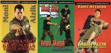 3 Dvd Set Israeli Special Forces Krav Maga Street Self Defense Set Moni Aizik
