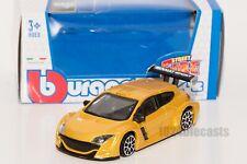 Renault Megan Trophy in Yellow, Bburago 18-30248, scale 1:43, toy gift model boy