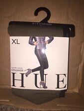 HUE Tuxedo Ponte Legging Woman's- Size XL 16-18 Oliver