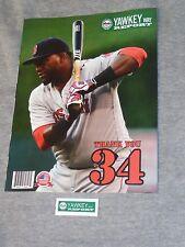 Sept 2016 Yawkey Way Report Boston Red Sox Program Scorecard David Ortiz Cover