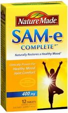 Nature Made MoodPlus SAM-e 400 mg Tablets 12 Tablets