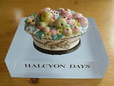 "Halcyon Days V&A Fruit Basket Bonbonniere - <2 1/2""(6.25cms)"