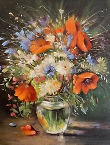 New Oil Painting Realism Impressionism Still Life Flowers Listed By Artist