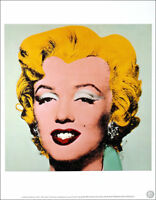 ANDY WARHOL Marilyn Monroe Official Authorized Litho Print 1989