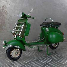 Blechmodell Motorroller Vespa grün Italien 26cm groß Retro Roller Metallmodell