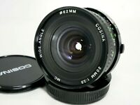 Cosina 20mm 1:3.8 Wide Angle Lens *As Is* For Olympus OM #S016a