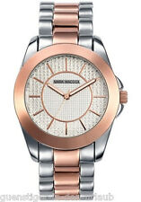 Mark Maddox trendy Silver fantastico bicolor (plata/roségoldfarben) reloj