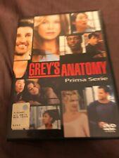 Grey's Anatomy - Serie TV - 1^ Stagione - Cofanetto Con 2 Dvd - Come Nuovo