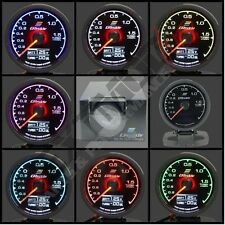 Greddy Multi D/A Style BOOST / VOLT Gauge 2 BAR Digital Analog 7 Colour 60mm
