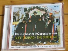 CLIFF RICHARD and THE SHADOWS: Finders Keepers (expanded CD with 4 bonus tracks)