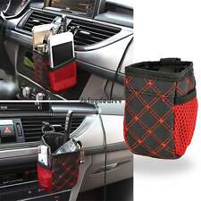 CATCH ALL Auto Car Air Bag Holder Phone Mobile Pocket Case Storage Box Carrier O