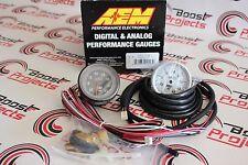 AEM Gauge Kit Analog Turbo Boost -1 to 4.1bar 30-5137M Global Shipping