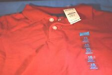 NWT Boy The Children's Place Red Polo Shirt sz 18 Months