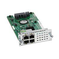 Used/ Cisco NIM-ES2-4 4-port Layer 2 Gigabit Ethernet LAN  Module