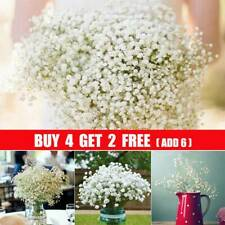 Artificial Fake Baby's Breath Gypsophila Silk Flowers Bouquet Wedding Decor GA