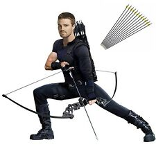 40lbs Archery Recurve Bow Shooting Hunting With Accessories 12 Archery Arrows