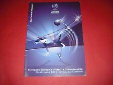 2012 informe técnico para mujer Campeonato de Europa de la UEFA
