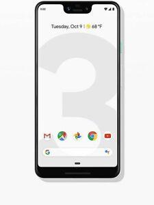 OPEN BOX Google Pixel 3 XL G013C - 64 /128 GB - Factory Unlocked - CHOOSE COLOR