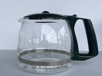Gevalia 12 Cup Carafe Coffee Maker Replacement Pot Green Lid & Handle.