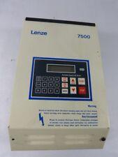 Lenze 7508-5B Drive 1HP 3PH 600VAC WOW