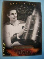 2011-12 Parkhurst Champions Black & White Renditions # 156 Jean Beliveau!