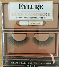 NEW in package: Eylure Cosmetics London Luxe Cashmere Eyelashes No. 4