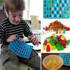 50 Gummy Maker Cavity Bear Mold Novelty Silicone Chocolate Candy Ice New Tray