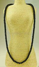 Runde Echte Edelstein-halsketten mit Onyx