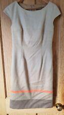Max Mara Weekend Fleece Wool Mix Beige/Brown Dress Size Small