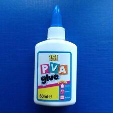 General Purpose PVA Adhesive Glue 60ml - paper cardboard wood fabric craft etc