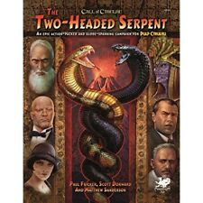 Two-headed Serpent a Pulp Cthulhu Campaign for Call O - Hardcover Fricker