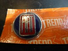 FIAT Original 1960's Quality Gear Knob Lever Badge Key Fob Enamel NOS