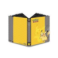 Ultra Pro Pokemon Pikachu 9 Taschen Seite Portfolio Album Sammelmappe hält 360